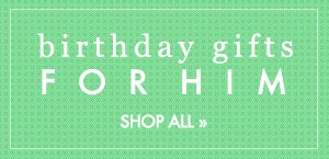 Shop Personalized Birthday Gifts for Him