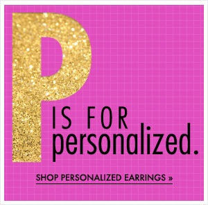 Shop Personalized Earrings