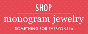 Shop Monogram Jewelry