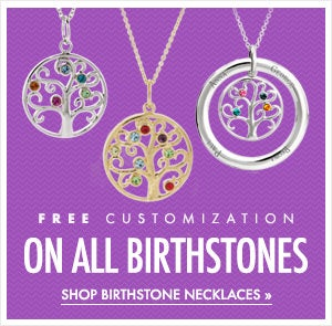 Shop Birthstone Necklaces