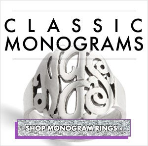 Shop Monogram Rings