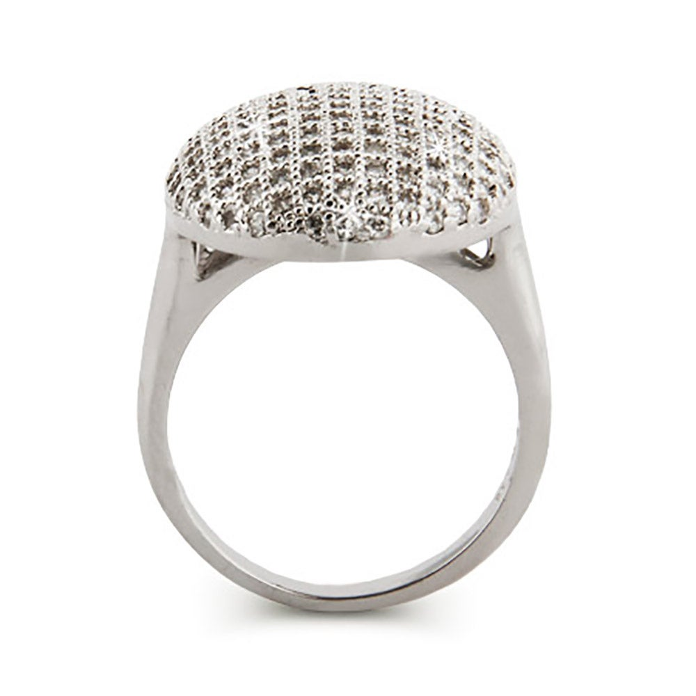 Vampire Inspired Glistening CZ Engagement Ring - photo#24