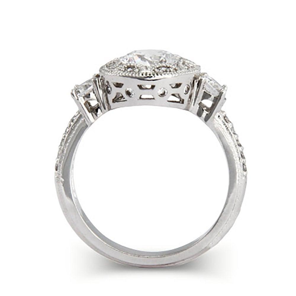 brilliant cut cz deco engagement ring s addiction 174