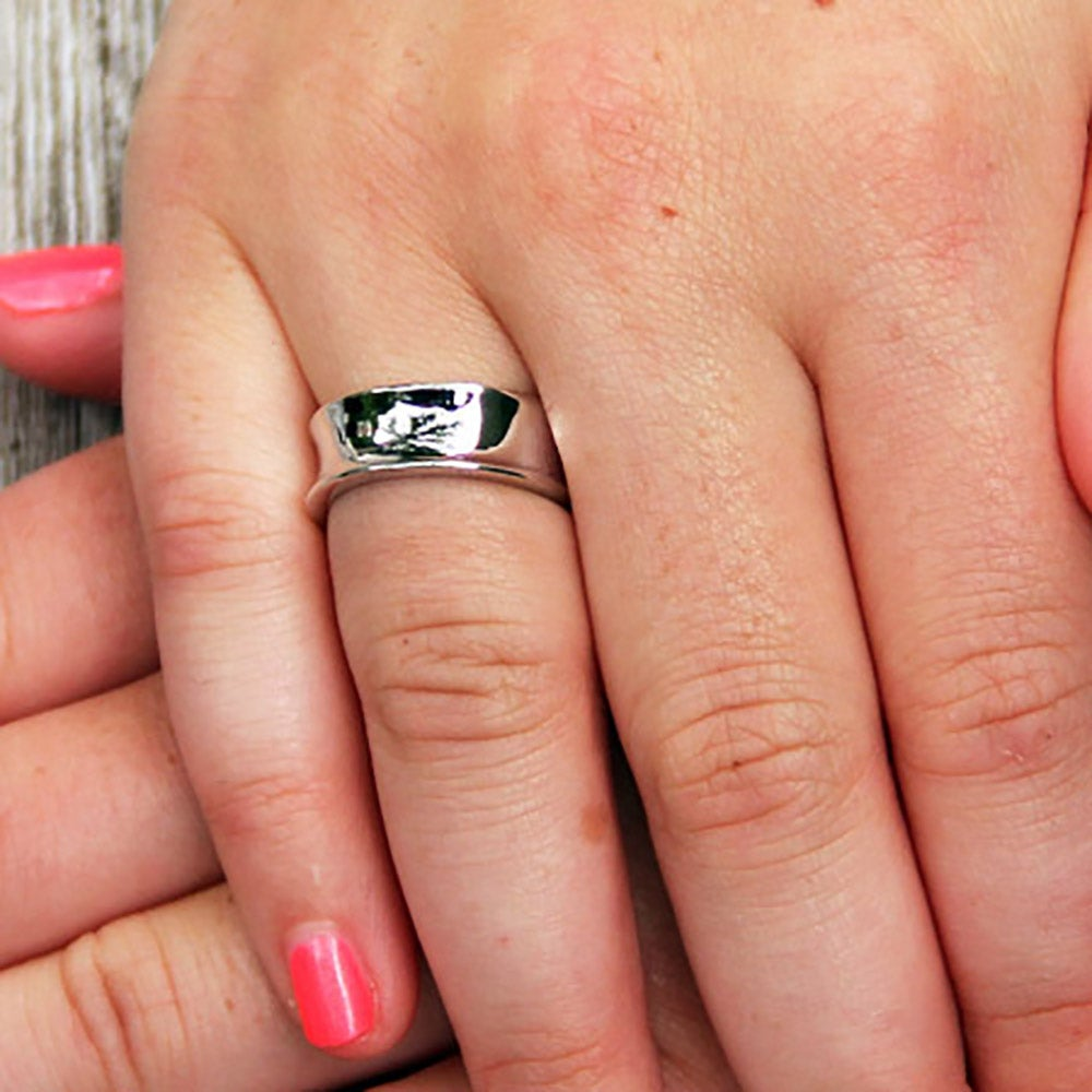 Tiffany Style 1837 Ring In Sterling Silver Rg10037 Tiffany 1837 Ring