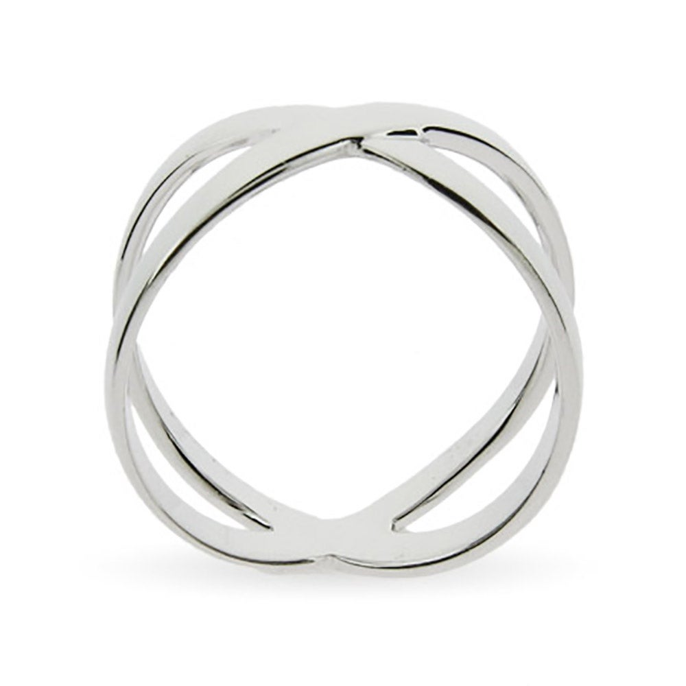 designer style x ring in sterling silver s addiction 174