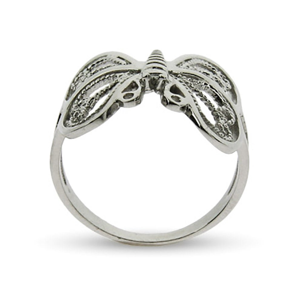 sterling silver butterfly ring s addiction 174