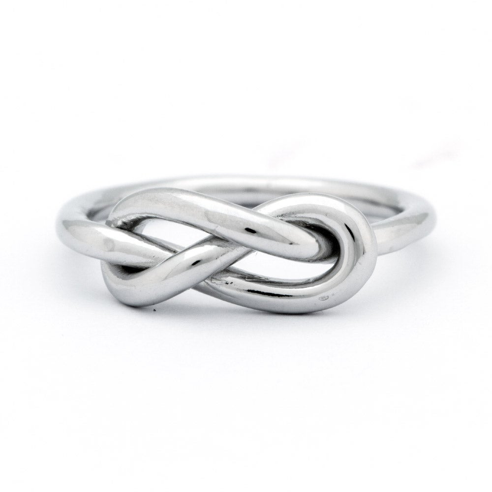 infinity knot sterling silver ring s addiction 174