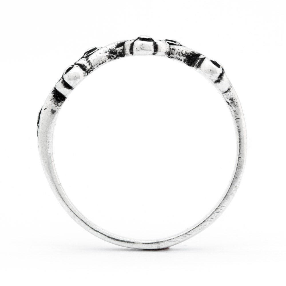criss cross sterling silver ring s addiction 174