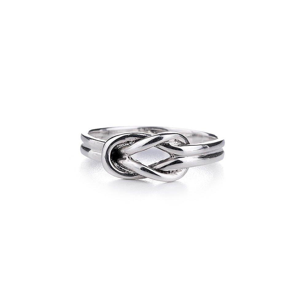 sterling silver knot ring s addiction 174