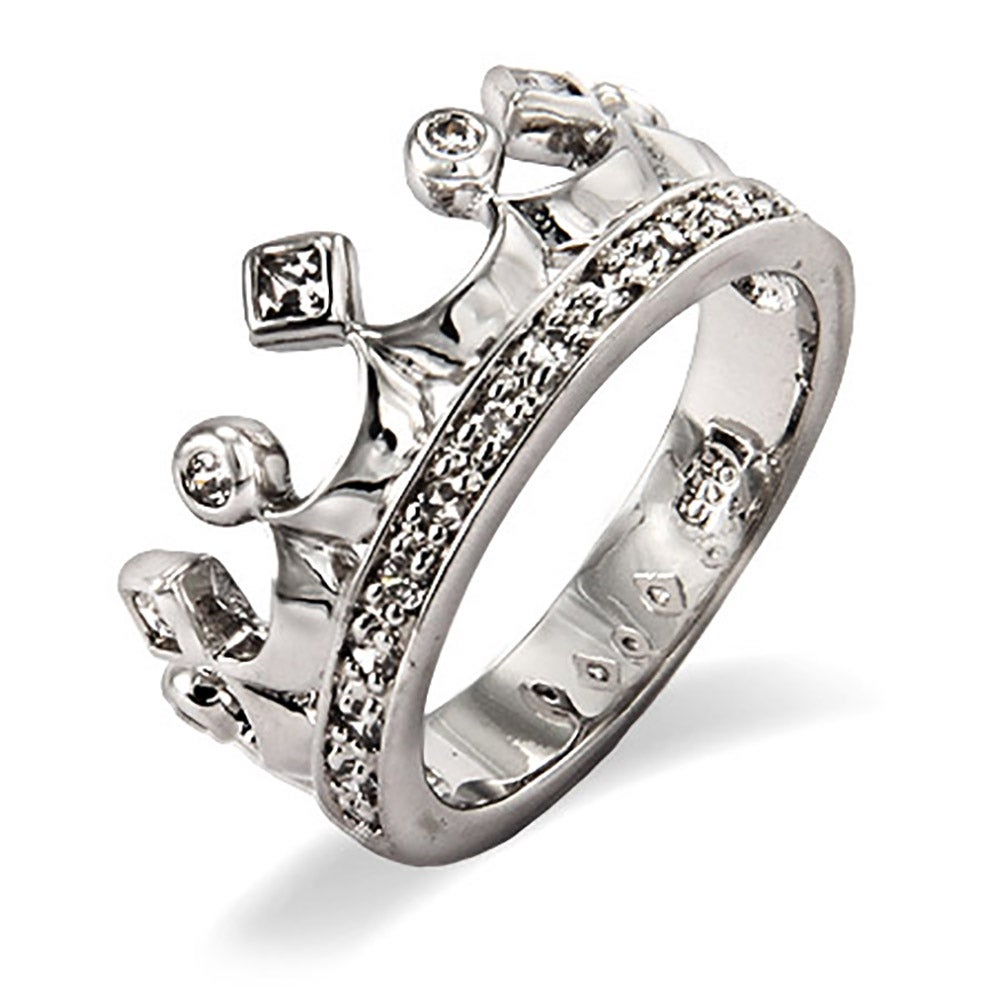 cubic zirconia crown jewels ring | eve's addiction®