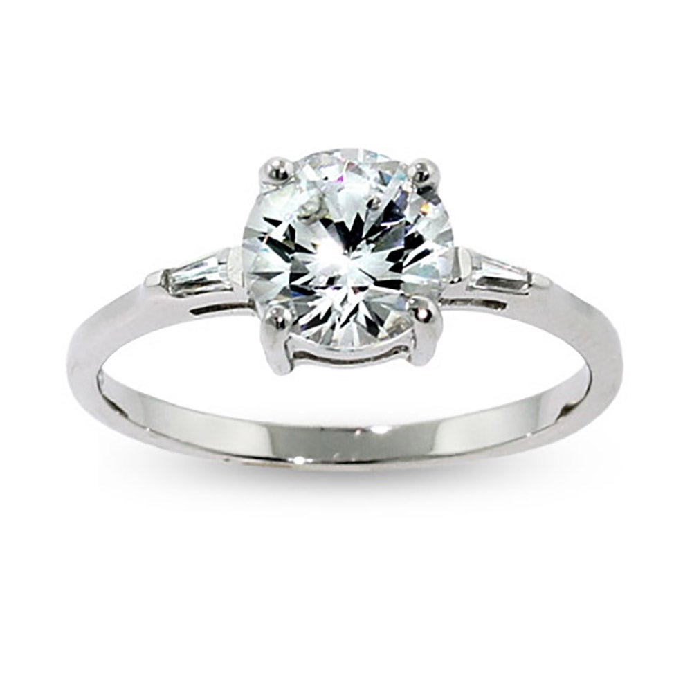 brilliant round cz engagement ring eve 39 s addiction