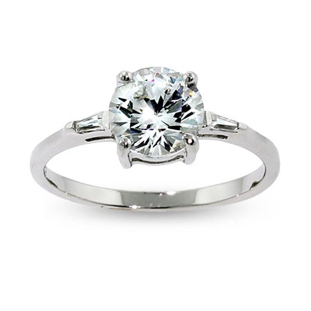 brilliant round cz engagement ring eve 39 s addiction