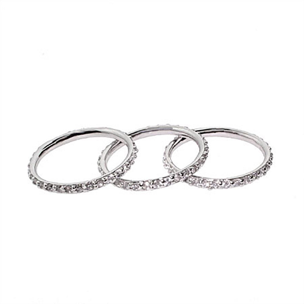 sterling silver stackable dz ring set s addiction