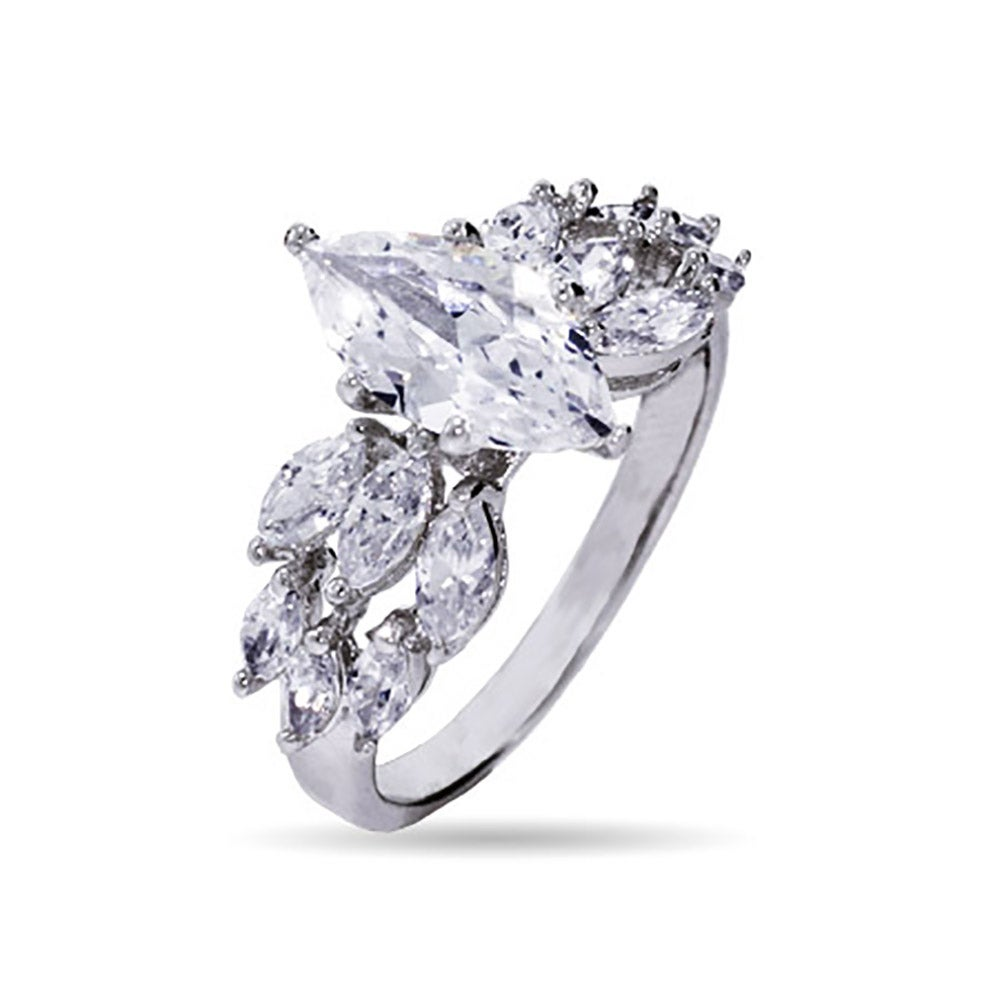 Art deco cubic zirconia engagement ring from eves addictions best cz diamond rings