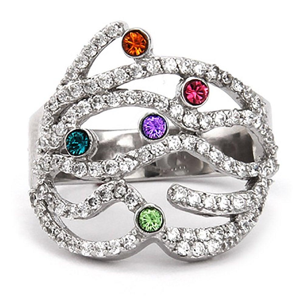 5 Stone Custom Austrian Crystal Dazzling Birthstone Family. Joy Pendant. Sapphire Stud Earrings. Filigree Engagement Rings. Circle Wedding Rings. Guardian Angel Bracelet. Green Face Watches. Pink Gemstone Rings. 42mm Watches