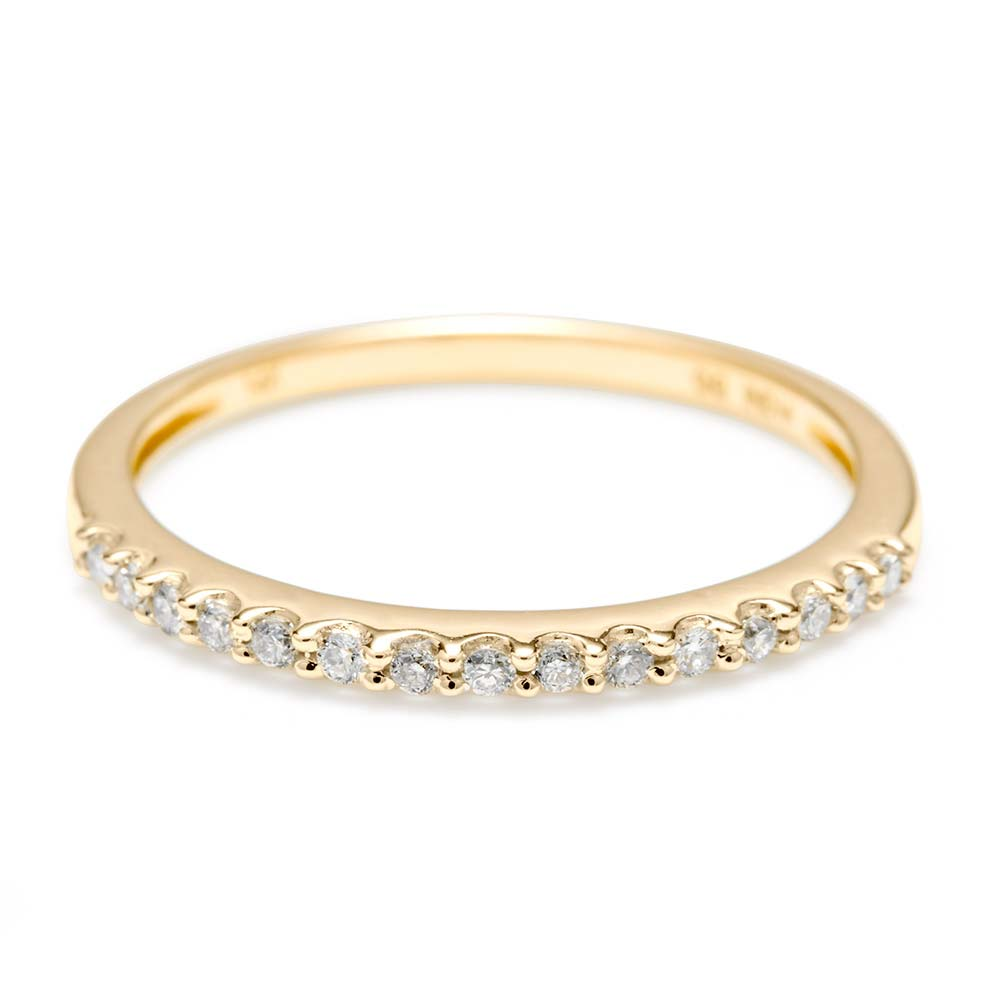14k gold thin promise ring free shipping