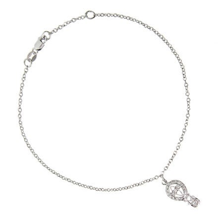 Hot Air Balloon Charm Anklet
