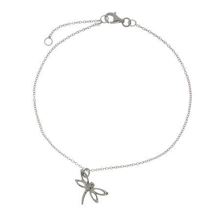 Designer Style Dragonfly Charm Anklet   Eve's Addiction®