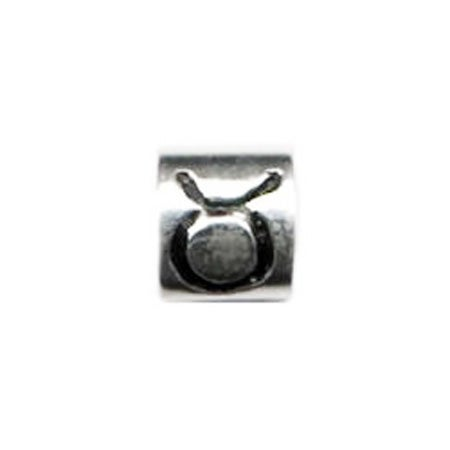 Taurus Sign Bead - Pandora Compatible