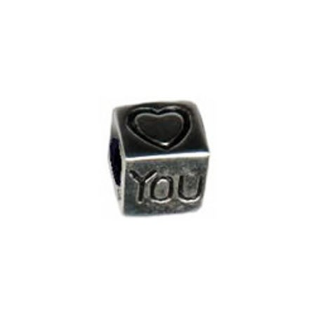 Heart You Cube Oriana Bead