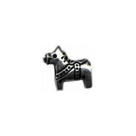 Swedish Dala Horse Bead