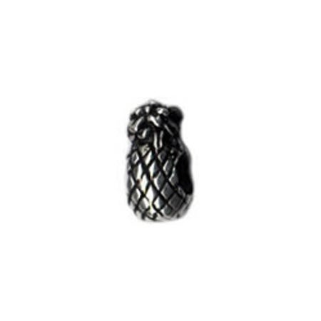 Pineapple Pandora Charm Compatible Bead