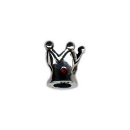 Ruby Stone Crown Oriana Bead | Eves Addiction