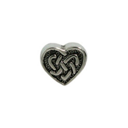 Celtic Heart Jewelry Bead | Eve's Addiction Jewelry