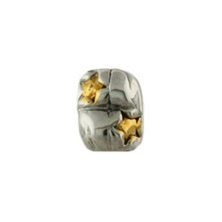 Gold Star Bead