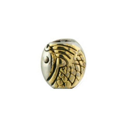 Gold Angel Wing Bead