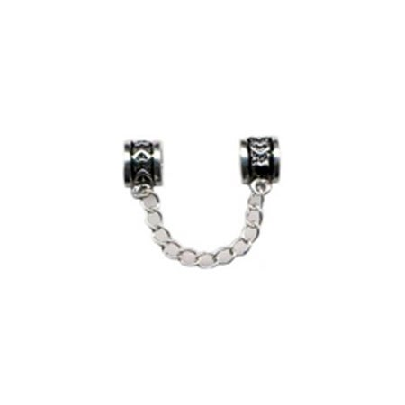 Heart Security Connector Bead