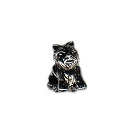 Scottie Terrier Bead | Pandora Compatible Terrier Bead