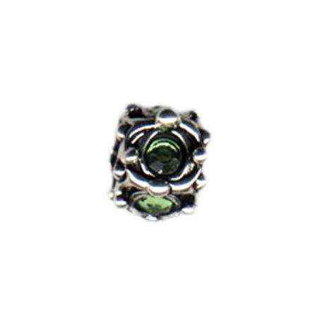 August Birthstone Bead | Pandora Compatible Bead
