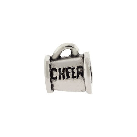 Cheerleaders Cheer Horn Bead
