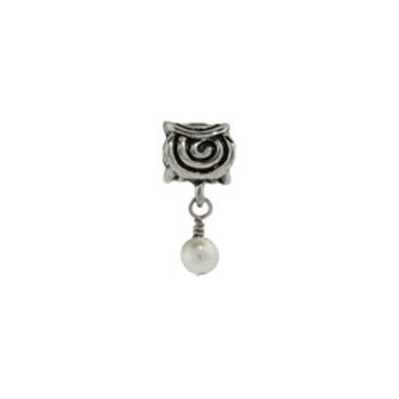 Dangling Scroll June Bead