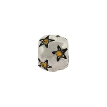 Citrine Stars November Birthstone Bead