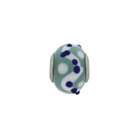 Blue Dot Trail Bead