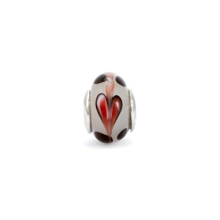 Abstract Heart Bead, Oriana & Pandora Compatible