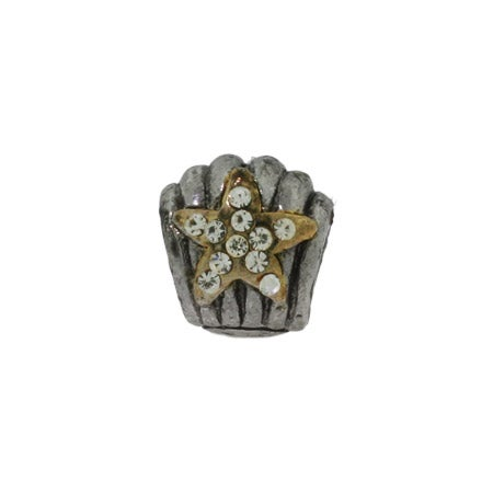 Diamond CZ Star Oriana Bead