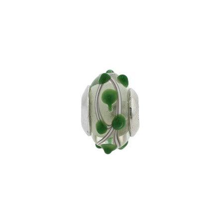 Pulsations Green Oriana Bead | Pandora Compatible Bead