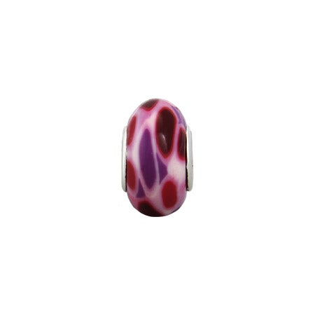 Red And Purple Enamel Jewelry Bead | Eve's Addiction