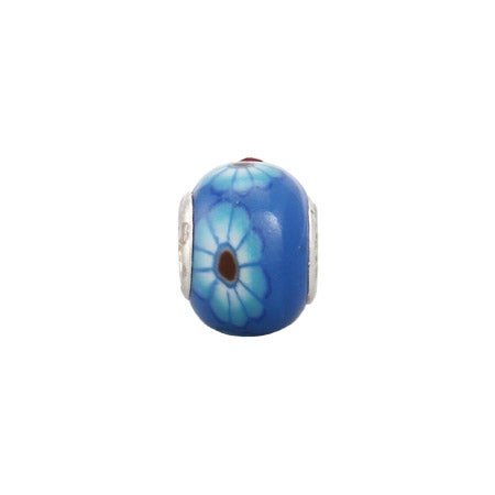 Blue Cornflower Bead