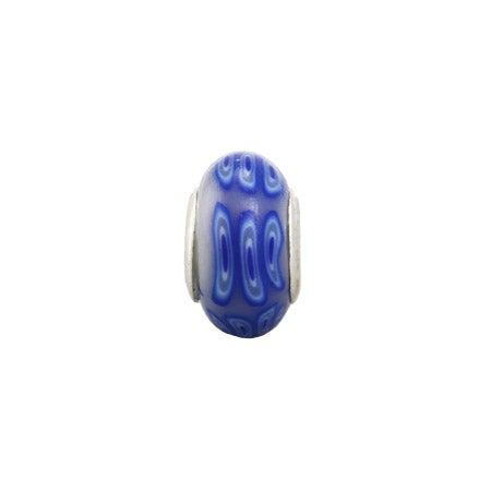 Dark Blue Enamel Bead | Eve's Addiction Bead Jewelry