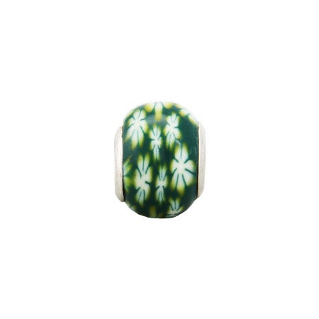 Flowery Green Fields Oriana Bead