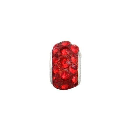 Ruby Austrian Crystal Oriana Bead