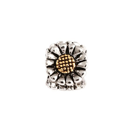 Sunflower Bead Pandora Charm Compatible