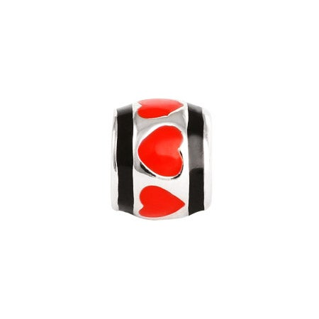 Red Hearts Oriana Bead