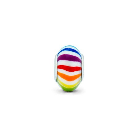 Rainbow Stripe Bead