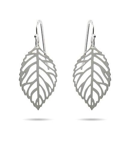 Filligree Autumn Leaf Dangle Earrings | Eve's Addiction®