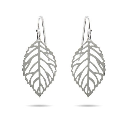 Filigree Autumn Leaf Dangle Earrings | Eve's Addiction®